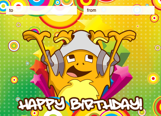 Animated Birthday Cards For Kids gangcraftnet – Free Animated Birthday Card
