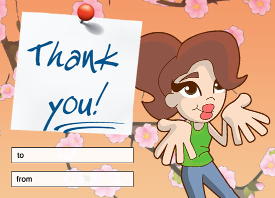 Thankyou-ecard